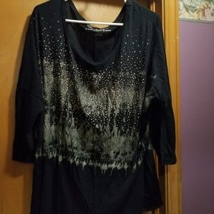 Maurices 3x bling top & sweater